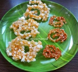 potato sabudana chakli