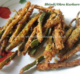 crispy ladies finger fry