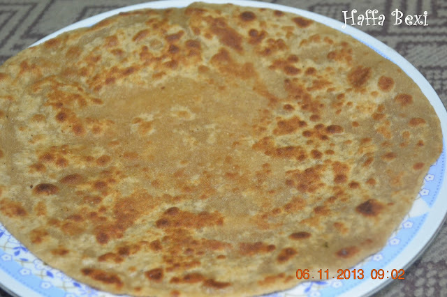 how to make sweet chapati