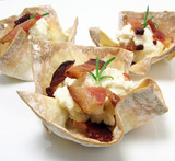 wonton cup appetizers