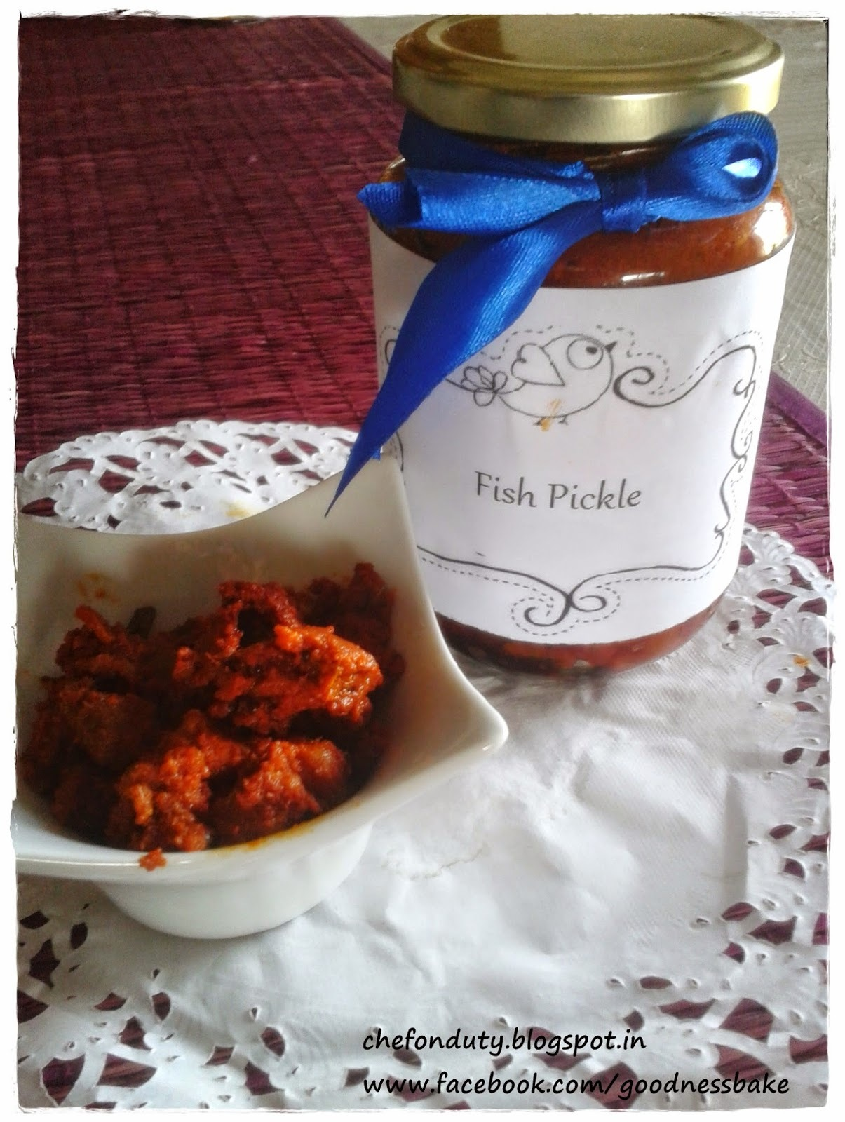 dry fish pickle