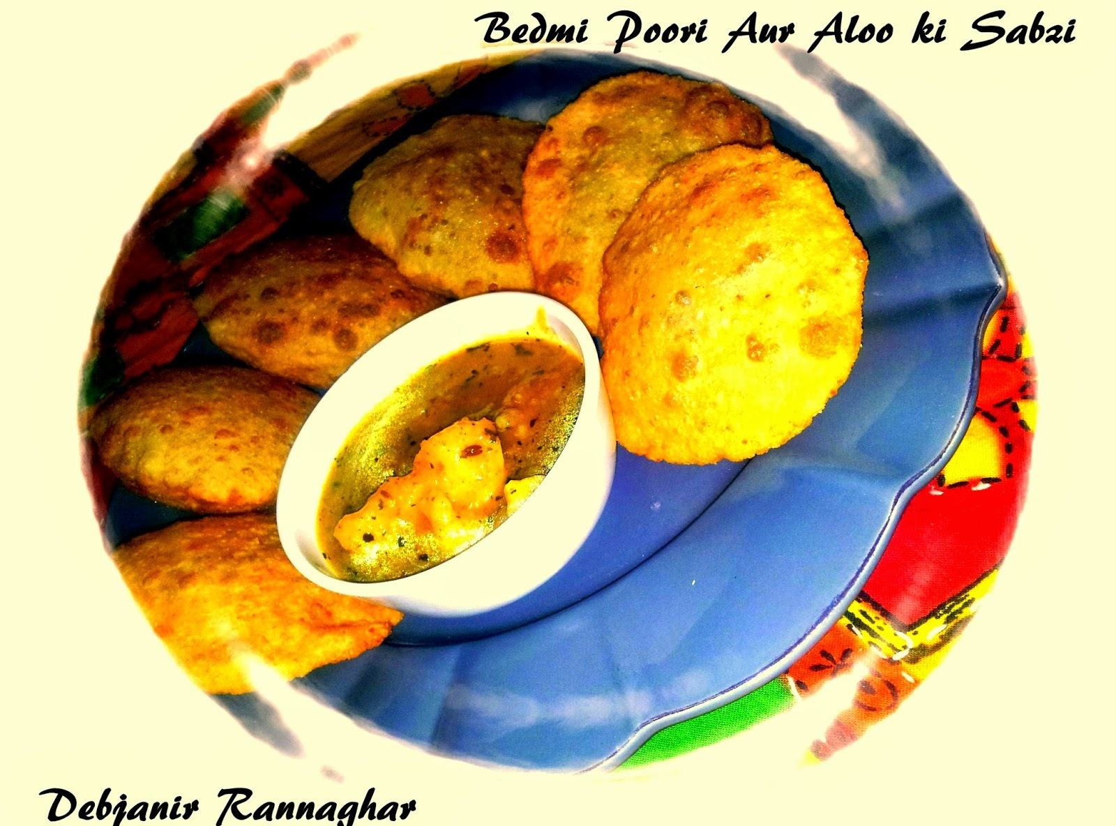for aloo ki sabzi with poori