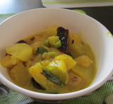 red pumpkin curry kerala style