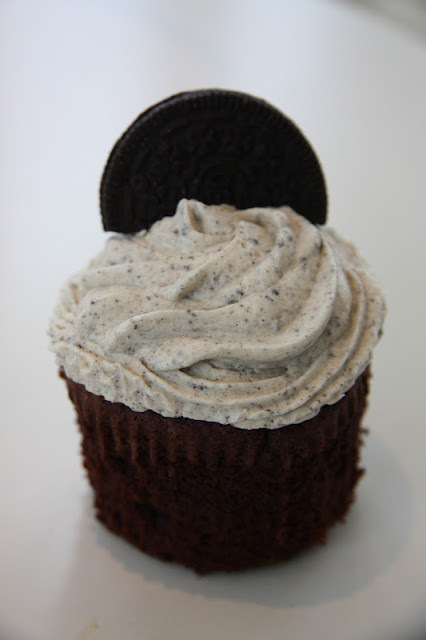 oreo cupcakes frosting