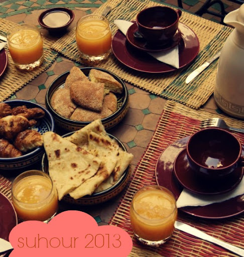 arabic breakfast menu