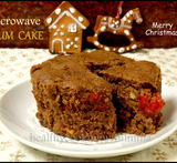 eggless wheat cake in microwave