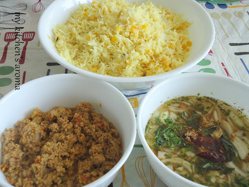 khichdi curry combination