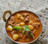kerala mutton curry with coconut milk