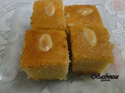 how to make the arabic sweet basbousa