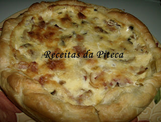 quiche de carne assada