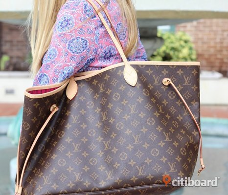 Louis Vuitton Neverfull Shopping Bag Väska