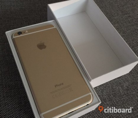 Iphone 6 plus 64GB Guld