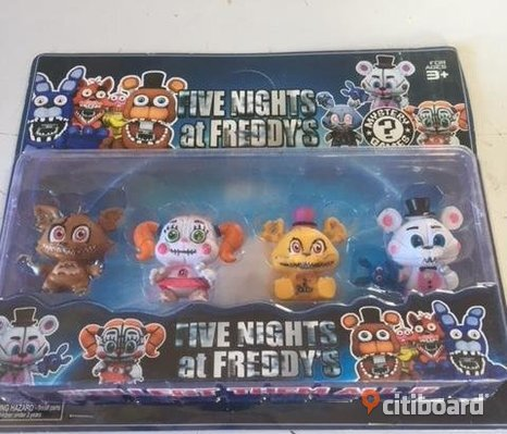 FIVE NIGHTS AT FREDDYS 4 ST FIGURER 7 CM
