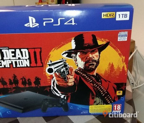 PS4 / PlayStation 4 Slim 1 TB + Red Dead Redemption 2
