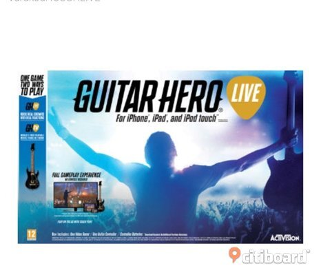 Guitar hero för ios