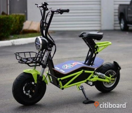 NY! 2019 MAD MAX 2000W 60V LITHIUM POWERED ELEKTRISK SCOOTER 30 MPH 20 MILE RIDE