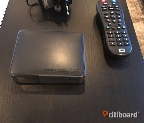Medispelare WD TV HD live media player gen 3