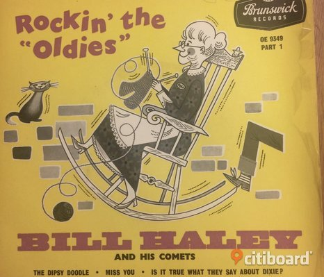 EP Vinyl Bill Haley: Rockin' the oldies