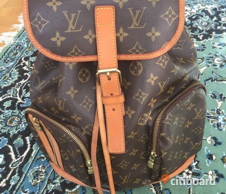 Louis Vuitton Bosphore Ryggsäck Monogram
