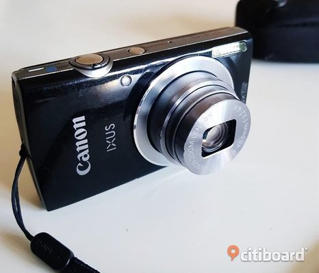 Liten digitalkamera Canon IXUS 145 8x optical zoom. 16.0 megapixels.
