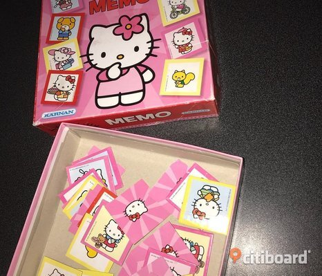 Memo Hello Kitty spel
