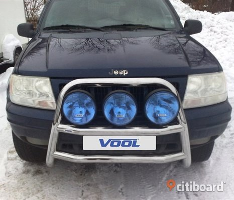 STOR TRIO frontbåge - Jeep Grand Cherokee 1999-2005