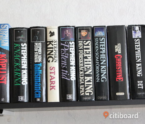 9 X Stephen King Böcker