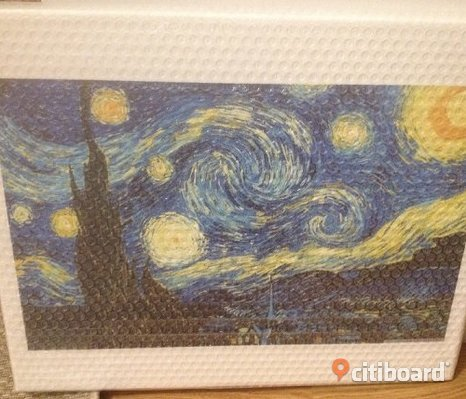 Starry Night canvas tavla Ny