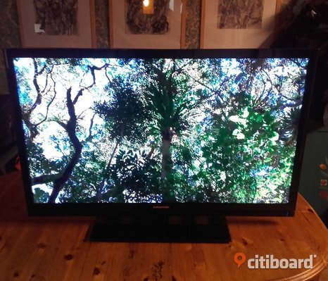 "Jättefin 46"" Grundig tv med full HD"