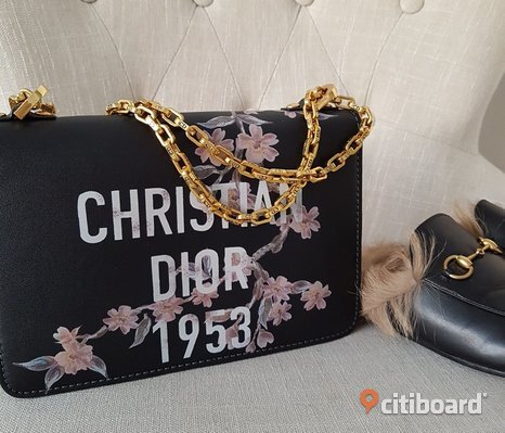 Dior J'adior Väska Flap Bag Chain Guld CD Christian Dior Limited Clutch
