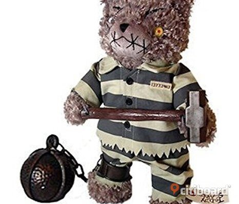"Teddy Scares - Granger Evermore 12"" Plush"