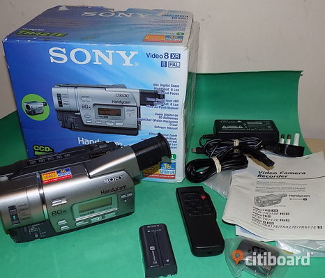 Sony Handycam video 8 XR CCD-TR427E Analog Video kamera