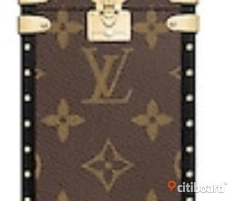 Louis Vuitton IPhone Case Mobilskal Mobil Skal Monogram LV