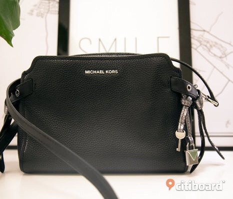 Michael Kors black cross body bag