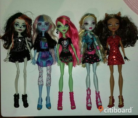 Monster high dockor