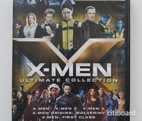 DVD-film: X-men BOX Ultimate Collection