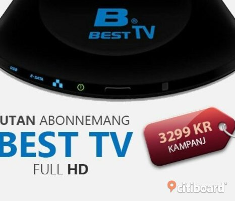 THE BEST  TV BOX