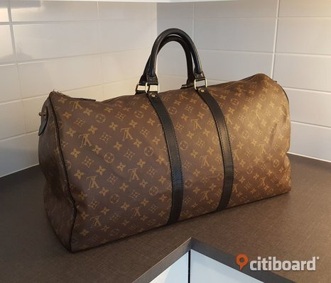 Louis Vuitton Keepall 55 (Renoverad)