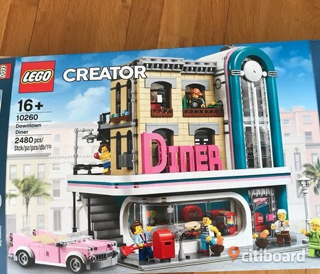 Lego creator downtown diner 10260.
