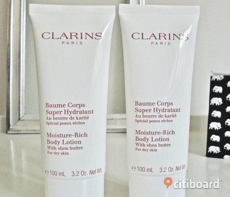 CLARINS - Moisture Rich Body Lotion! 2 x 100 ml! Värde 389:-! Nya!