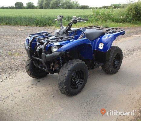 Yamaha Grizzly 550 4x4 Quad ATV 2013