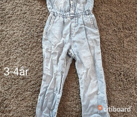 Barn jeans overall
