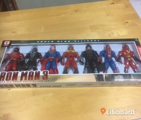 IRONMAN 7 ST FIGURER