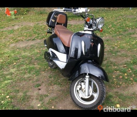 Elscooter costum retro 2000w