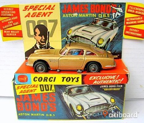 Söker james bond corgi toys