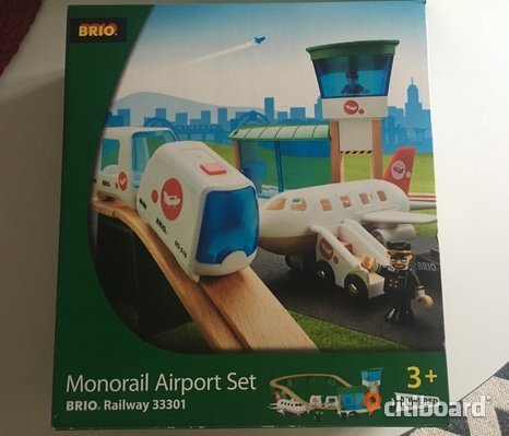 Monorail Airport Set Brio