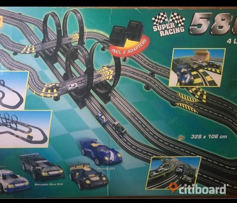Super racing 5800 4 lane
