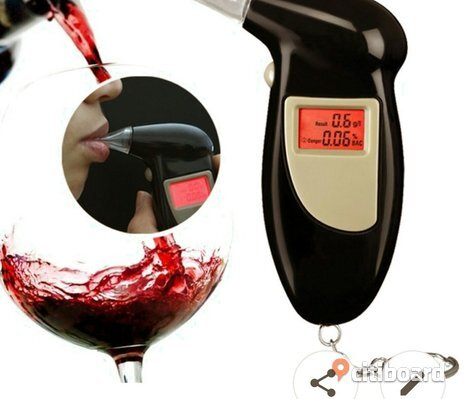 Digital LCD Alcohol breathlyzer test detector REA