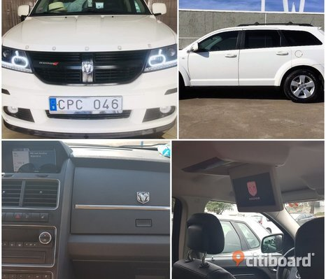 Dodge journey miljöbil 2.7 etanol
