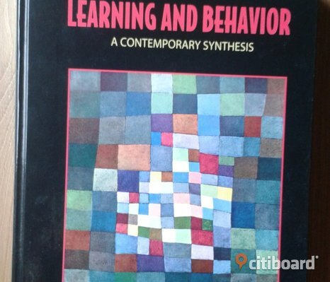 Learning and Behavior, Mark E. Bouton.